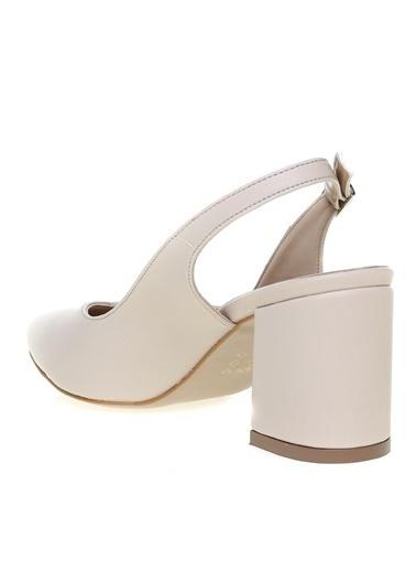 Pierre Cardin Pierre Cardin Bej Topuklu Ayakkabı Bej
